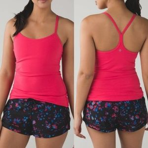 Lululemon Power Y Racerback Tank Top Boom Juice